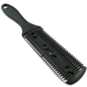 Razor Hair Comb.Thinning Comb Hair Cutter - Razor Comb Hair Trimmer BLACK