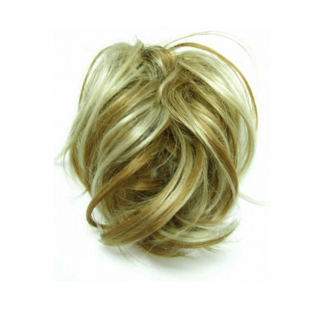 Gizzy Ladies Girls Large Golden Blonde With Highlights Fake Hair