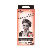 Claire's Scunci Women's 1940s Vintage Victory Roll Hair Styling Kit