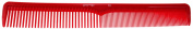Pro Tip Hairdressing Cutting Comb PTC01 170mm - RED