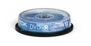 TDK - 10 x DVD-R 4.7 GB 16x - Spindle - Storage Media