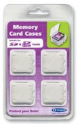 Integral SD & SDHC Card Cases - 4 Pack
