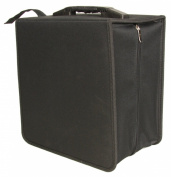 eSecure - Large 504 x CD DVD Disc Storage Wallet Holder Carry Case with Carry Handle - Massive 504 Disc Capacity!