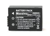 Maxsima - DMW-BMB9 1250mAh BATTERY PACK for PANASONIC Lumix DMC FZ150, FZ100, FZ72, FZ70, FZ62, FZ60, FZ45, FZ40, FZ48, FZ47 BMB9, BMB9e.