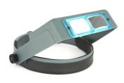 Optivisor DA-4 2x Head Band Handsfree Magnifier Visor