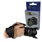 Ex-Pro® Genuine Leather Ergonomic Stabilising Hand Grip Strap for Canon EOS, Nikon, Sony Alpha, Olympus & Pentax Digital SLR