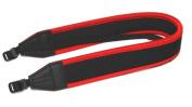 Maxsimafoto - Neoprene Camera Neck Strap, Red / Black for Nikon D3300 D800 D600 D610 D7000 D7100 D3000 D3100 D3200 D5000 D5100 D5200 D90 D60 D40 D300