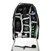 7dayshop Photographers Backpack / Rucksack - Camera Bag for Digital SLR and DSLR Cameras incl. Canon, Nikon etc. - Black
