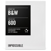 Impossible Instant Black and White film for Polaroid 600 Camera