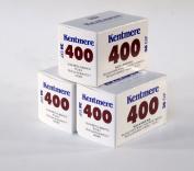 Kentmere 400asa Black & White Film 35mm 36exp 3 Pack