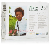 Naty by Nature Babycare Size 3 (9-20 lbs/4-9 Kg) Nappies - 4 x Packs of 31