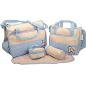 5 Piece Baby Changing Bag - Various Colours