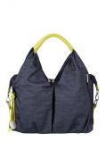 Lässig Changing Bag Green Label Neckline Bag, denim blue