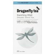 Dragonfly Organic Swirling Mist White Tea 20 per pack