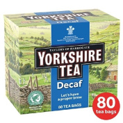 Taylor's of Harrogate Yorkshire Tea Decaffeinated Teabags 80 per pack