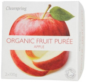 Organic Apple Fruit Puree 2 x 100 g