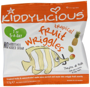 Kiddylicious Tropical Wriggles 12g,