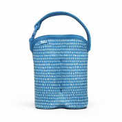 Built NY Two Bottle Tote Dribble Dots