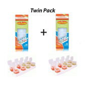 Happy Mummy 2 PACK Of Baby Cubes Food Cube Portioners Storage Pots 40ml