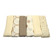Cuddles Collection - Muslin Squares - Coffee and Cream