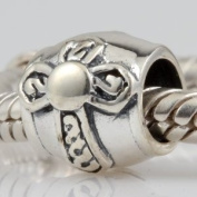 Everbling Celtic Cross Authentic 925 Sterling Silver Charm Fits Pandora Chamilia Biagi Troll Beads Europen Style Bracelets