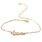 Simple Elegant Sexy Anklet Foot Chain Ankle Bracelet Love Charm Summer Beach