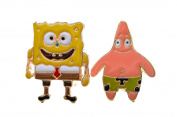 Sponge Bob Square Pants and Patrick Starfish Cufflinks