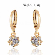 14K Gold Filled Cubic Zirconia Earrings