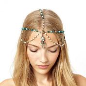 Atdoshop(TM) Metal Rhinestone Head Chain Hairbands