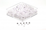 Birth Stone Jewels 1.75 mm Diamond White Round Brilliant Cut Cubic Zirconia Gem Stones Pack Of 10