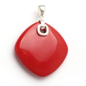 "Sweet & Happy Girl'S Store Drip Agate Beads Silver Base Pendant"" Jewellery Making Pendants"