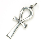 Coptic Ankh Pendant Jewellery 925 Sterling Silver, Pendant with Eyelet