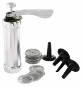 Mastrad Aluminium Cookie Biscuit Press Donut Stuffer Churros Maker