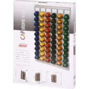Nespresso Capsule Holder holds up to 60 capsules