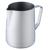 VonShef Stainless Steel Milk Jug Suitable for Coffee, Latte & Frothing Milk