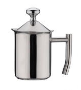 Grunwerg Stainless Steel Milk frothing Frother Jug Pot 400ml - MF-400