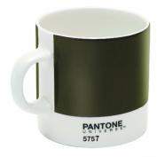 Pantone 5757 Bone China Espresso Cup, Olive Green
