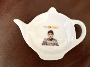 THE BEATLES When I'm 64 TEA BAG TIDY Ideal Birthday Gift