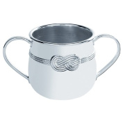 Vera Wang by Wedgwood - Infinity Silver Plated Baby Cup