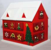 Wooden House Christmas Advent Calendar
