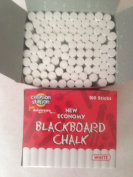 2 x 100 Boxes Of Economy Blackboard Chalk - White