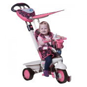Smart Trike Dream 159-0200 Tricycle with Touch Steering Pink / Black