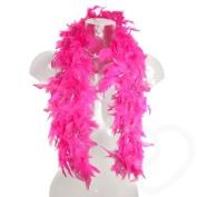 Shopmonk Ladies Pink Feather Boa fancy Dress Hen Party Birthday Costume Burlesque Gatsby