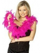 Best Dressed Hot Pink Feather Boa 150cm. 50g
