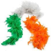 Irish Feather Boa - St Patrick's Day Fancy Dress