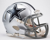 OFFICIAL NFL DALLAS COWBOYS MINI SPEED AMERICAN FOOTBALL HELMET BY RIDDELL