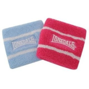 Lonsdale 2 Pack Wrist Bands