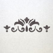 J BOUTIQUE STENCILS Wall Border stencils Pattern 007 Reusable Template for DIY wall decor