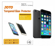 JOTO iPhone 6 Tempered Glass Screen Protector - iPhone 6 0.33 mm Rounded Edge Tempered Glass Screen Protector Film Guard for Apple iPhone 6 4.7 inch