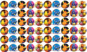 60 Precut 2.5cm BACKYARDIGANS Bottle Cap Images 1
